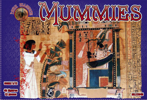 DARK ALLIANCE 72045 MUMMIES - 1/72 SCALE. EGYPTIAN