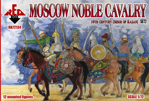 RedBox 72134 Moscow Noble Cavalry - 16th Century - Siege of Kazan Set #2  - 1/72 scale.
