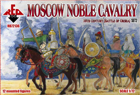RedBox 72136 Moscow Noble Cavalry - 16th Century - Battle of Orsha Set #2  - 1/72 scale.