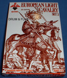 REDBOX 72085 EUROPEAN LIGHT CAVALRY SET 2. 16th Century. 1:72 SCALE