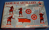REDBOX 72091 SAMURAI ARTILLERY SET 2. 16th Century. 1:72 SCALE