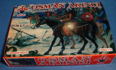 REDBOX 72092 TURKISH OSMAN AKINCI SET 1. 1:72 SCALE UNPAINTED PLASTIC