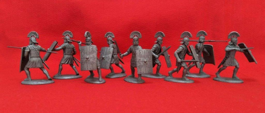 Expeditionary Force 60 RMN 01 - G Legionaries (Legio III Gallica). 60mm