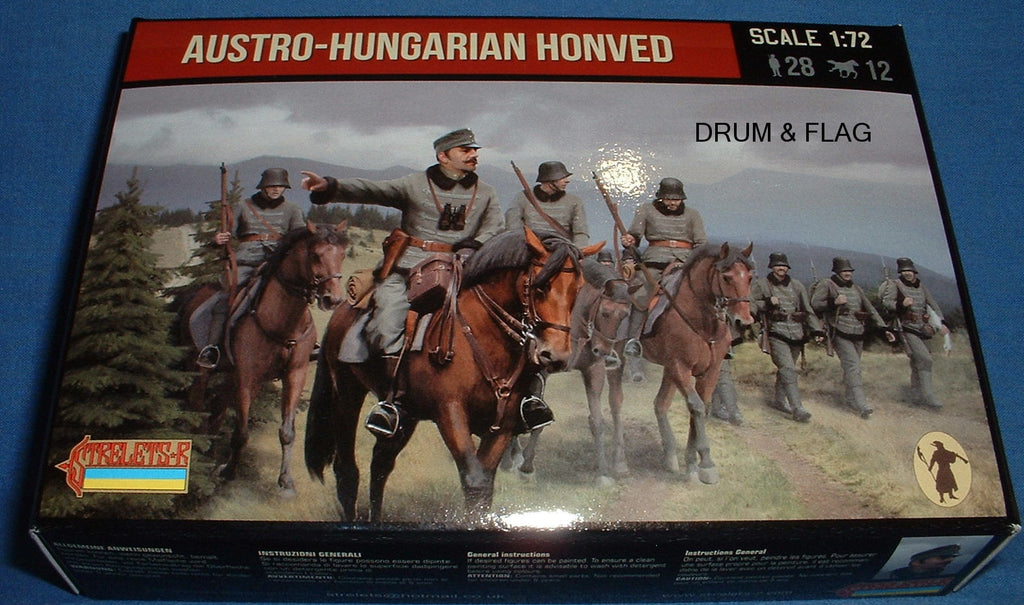 STRELETS Set 74 - AUSTRO-HUNGARIAN HONVED - WW1 - 1/72 SCALE