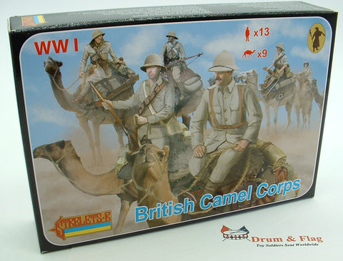 Strelets Set 165 - British Camel Corps - WW1. 1/72 scale