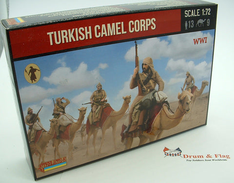 Strelets Set 167 - Turkish Camel Corps - WW1. 1/72 scale