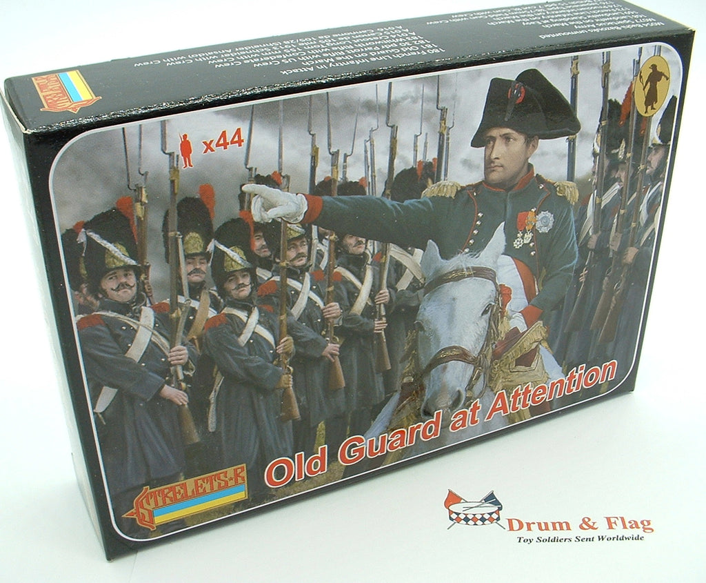 Strelets Set 171 - Old Guard at Attention - Napoleonic French. 1/72 scale