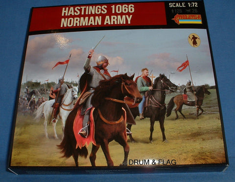 STRELETS SET 910. HASTINGS 1066 - NORMAN ARMY. 1/72 SCALE
