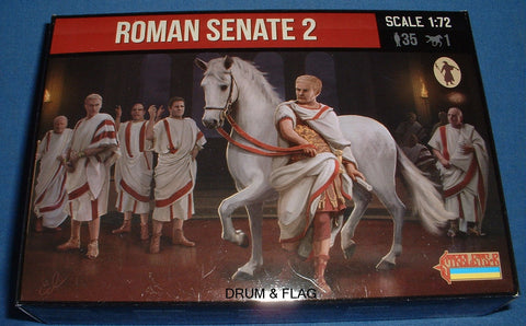 STRELETS SET 138. ROMAN SENATE SET #2. 1/72 SCALE