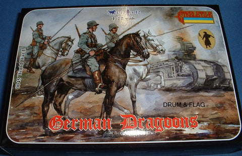 STRELETS 45. GERMAN DRAGOONS. WW1. 1:72 Scale