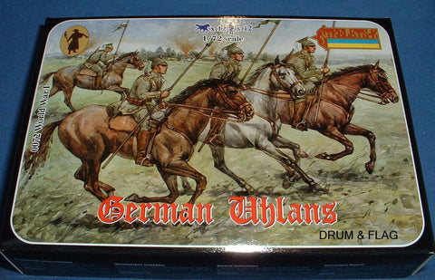 Strelets Set #72 German Uhlans. 1/72 Scale