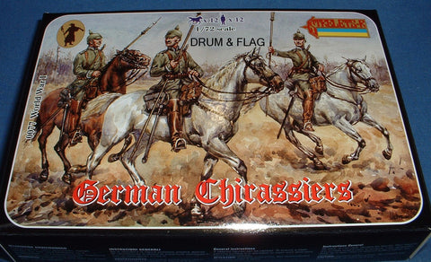 STRELETS Set #77. GERMAN CUIRASSIERS. WW1. 1:72 Scale