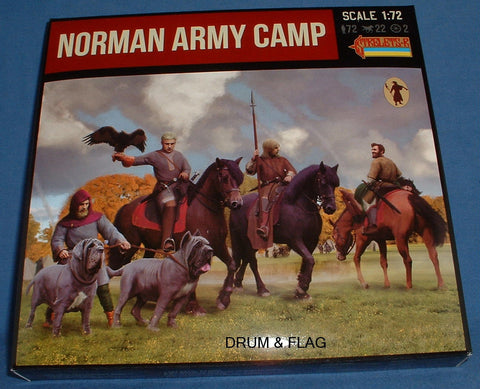 STRELETS SET #909. NORMAN ARMY CAMP. 1/72 SCALE