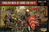 STRELETS Set M118 - ENGLISH MEN-AT-ARMS XIII-XIV C - 1/72 SCALE