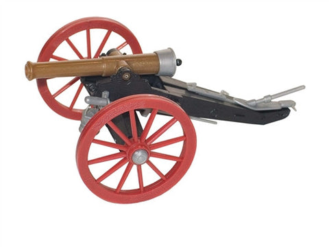 TIMPO 43206 - FIELD GUN. 1:32 SCALE. PLASTIC TOY CANNON