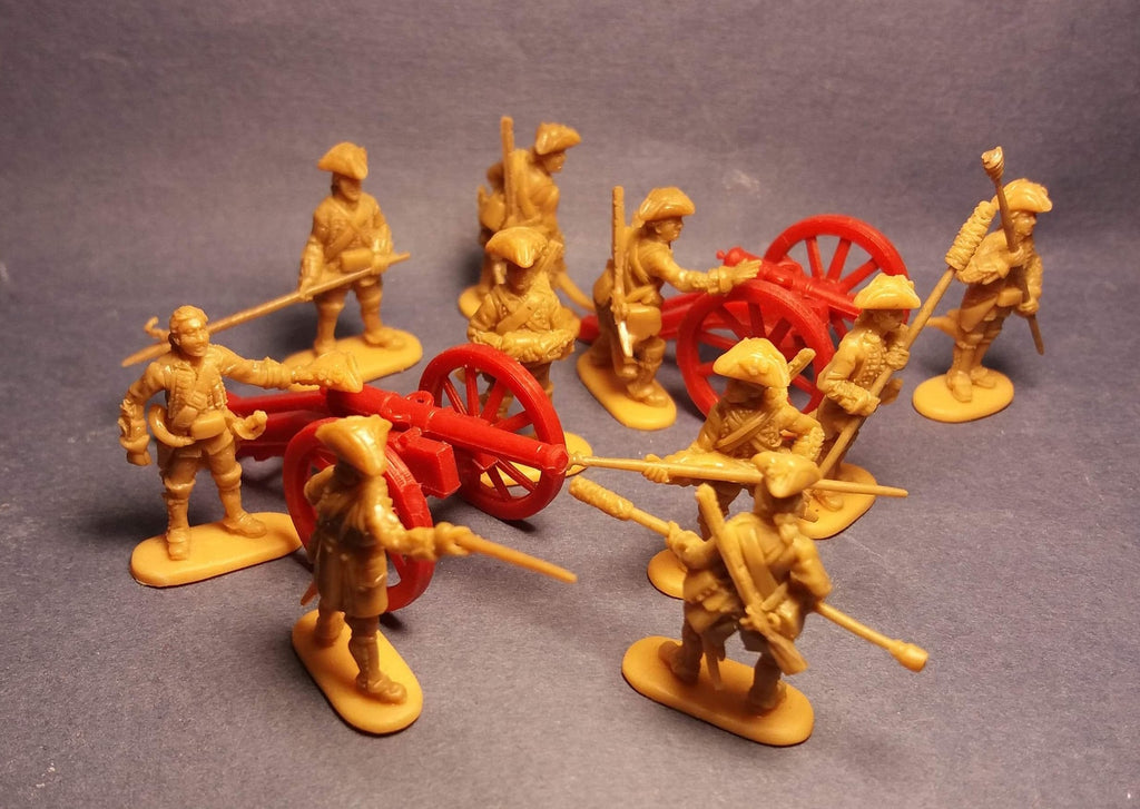 Redbox 72???. British Royal Artillery. Jacobite Rebellion. 1/72 scale. FUTURE RELEASE. NYA