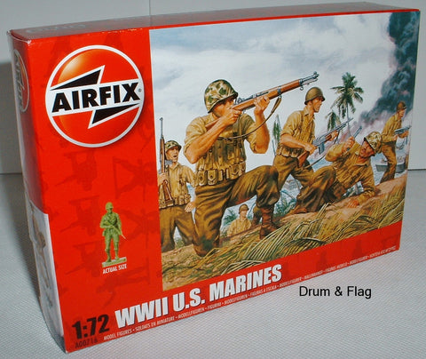 Airfix 00716 WW2 US Marines. 1/72 Scale