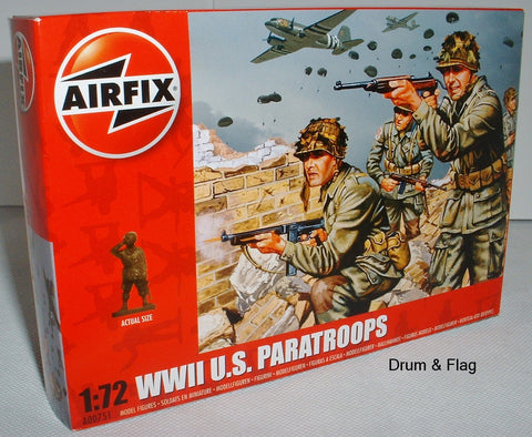 Airfix 00751 WW2 US Paratroops. 1/72 Scale
