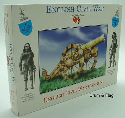A CALL TO ARMS 13  ENGLISH CIVIL WAR CANNON 1/32 SCALE