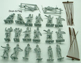 A CALL TO ARMS 2. ENGLISH CIVIL WAR PIKEMEN 1/32 SCALE. ROYALIST / PARLIAMENT