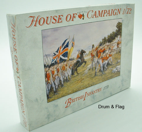 A CALL TO ARMS #65 BRITISH INFANTRY 1775. 1/72 SCALE