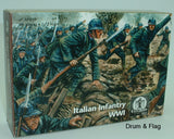 WATERLOO 1815 AP019. WW1 ITALIAN INFANTRY. 1/72 SCALE