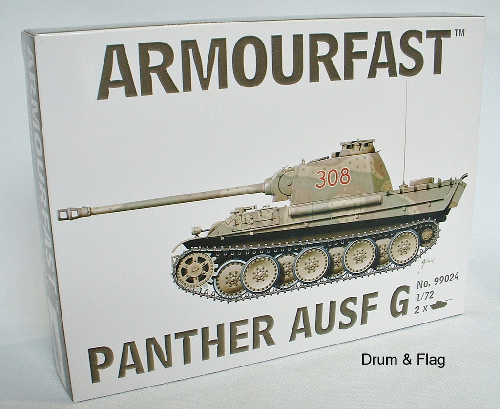 ARMOURFAST 99024 GERMAN PANTHER AUSF G 1/72 SCALE