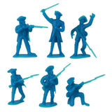 BMC Toys Revolutionary War Battle of Yorktown Bagged Figure set. American War of Independence. 1/32 Scale 54mm