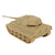 BMC TAN KING TIGER TANK. 1/32 SCALE WW2 GERMAN PANZER. 25CM LONG x 11.25CM WIDE.