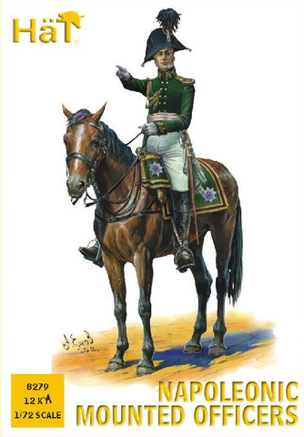 HaT 8279 Napoleonic Mounted Officers 1/72 scale.