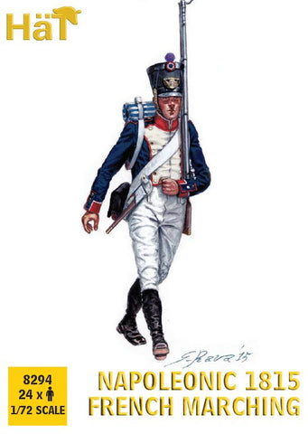 HaT 8294 Napoleonic French 1815 Marching 1/72 scale.