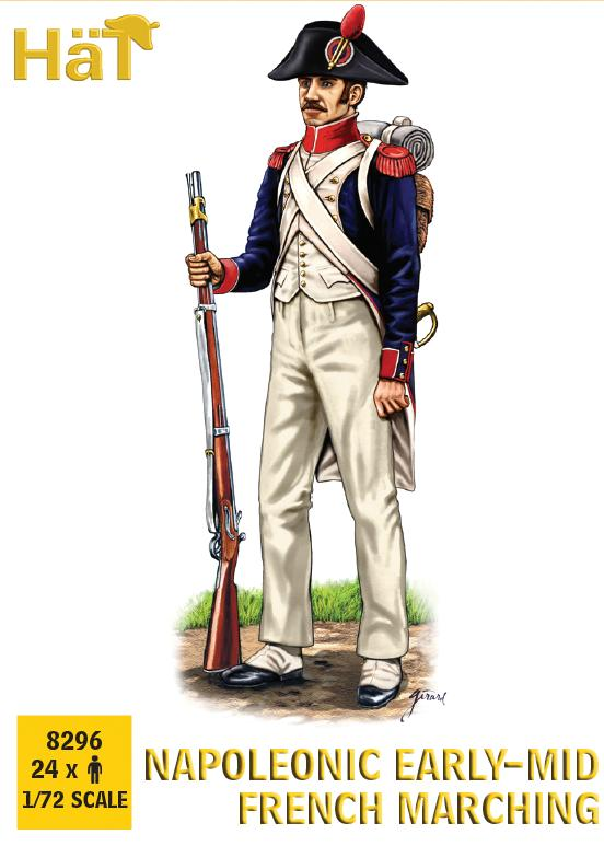 HaT 8296 Napoleonic French 1805-1812 Marching 1/72 scale