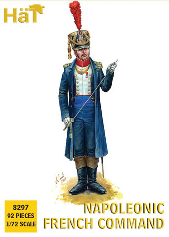 HaT 8297 Napoleonic French Command 1/72 scale. 92 pieces