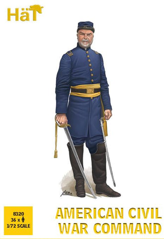 HaT 8320 American Civil War Command. 1/72 Scale