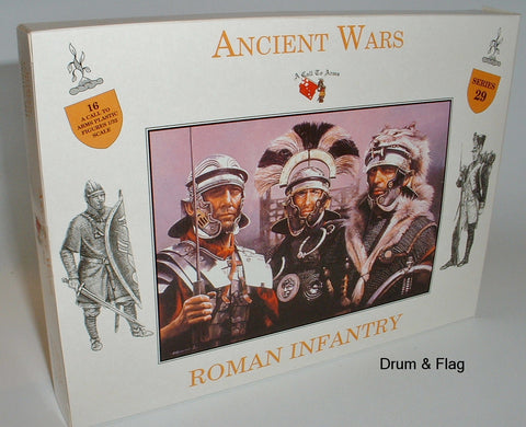 A CALL TO ARMS #29 ROMAN INFANTRY 1/32 SCALE