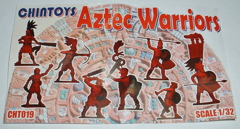 CHINTOYS cht019 AZTEC WARRIORS 1/32 SCALE 54-60mm