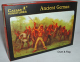 CAESAR #40. ANCIENT GERMANS. 1/72 Scale GERMAN WARRIORS
