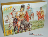 HAT 8021 ROMAN CAVALRY. 1/72 SCALE.