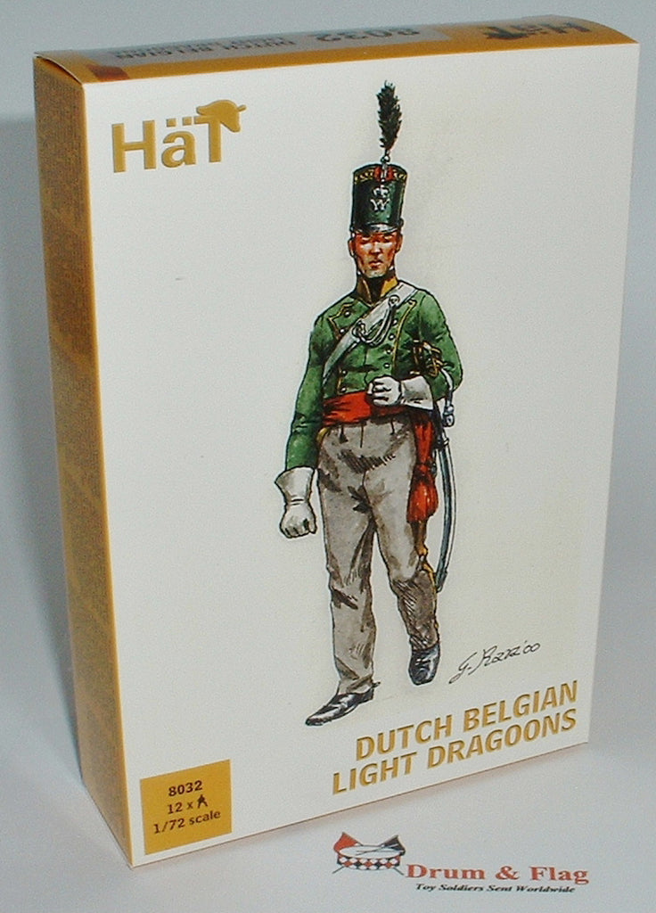 HAT 8032 - NAPOLEONIC DUTCH BELGIAN LIGHT DRAGOONS 1:72 SCALE