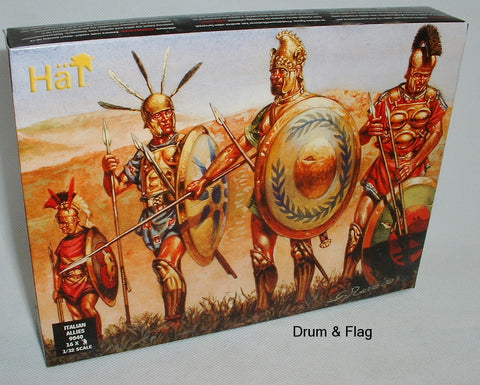 HAT 9040 - ITALIAN ALLIES - 1/32 SCALE PLASTIC - PUNIC WARS