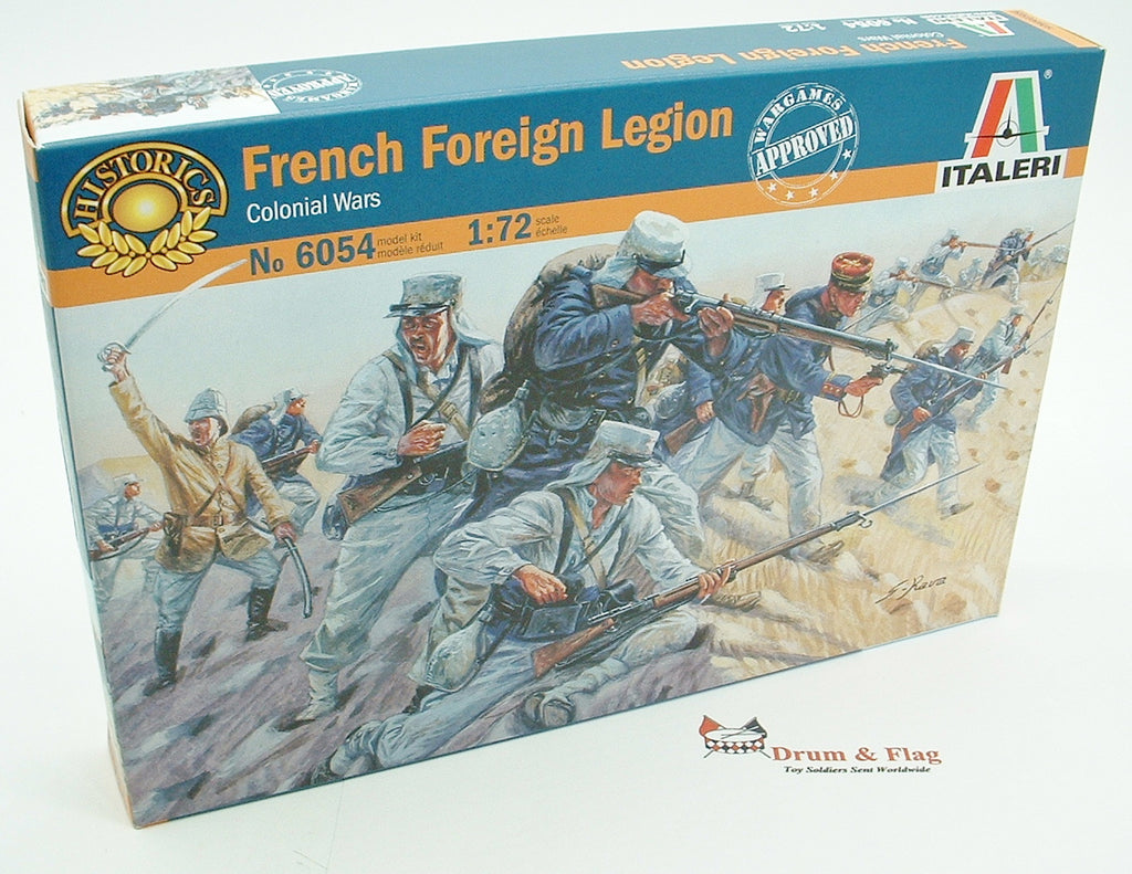 Italeri 6054. French Foreign Legion. 1:72 Scale (Esci poses)