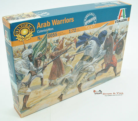 Italeri 6055. Arab Warriors. 1:72 Scale (Esci poses)
