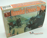 Linear-A 011 Hannibal Crosses the Alps Set 1. 2nd Punic War. Carthaginians. 1/72 scale.