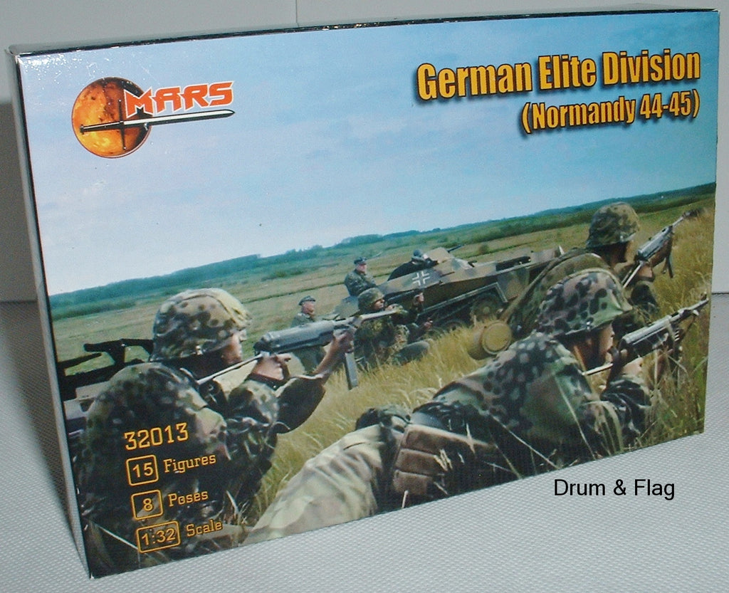 Mars 32013 German Elite Division Waffen SS (Normandy 44-45) WWII. 1/32 scale