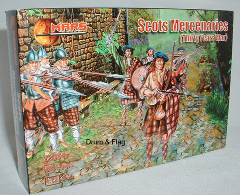 MARS 72034 - Scots Mercenaries (TYW). Also Covenanters? Jacobites? 1/72 Scale