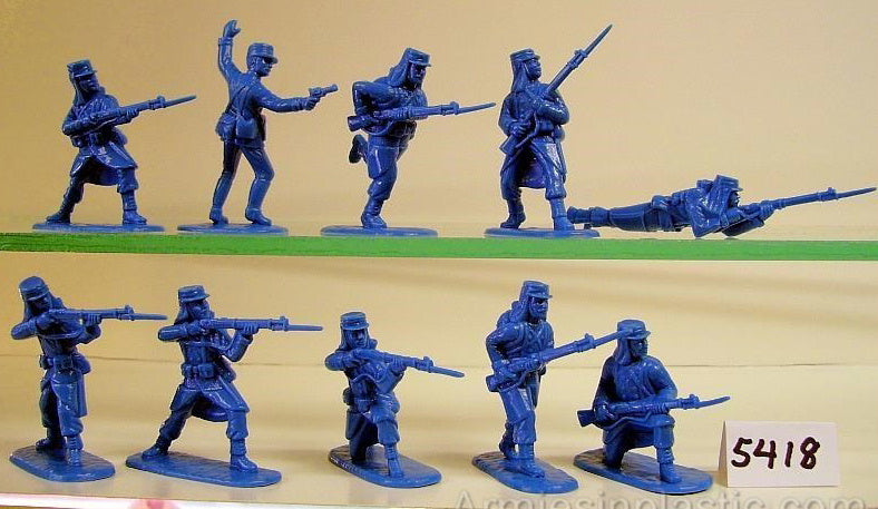 ARMIES IN PLASTIC #5418 - FRENCH FOREIGN LEGION - NORTH AFRICA 1900 - 1/32 SCALE.