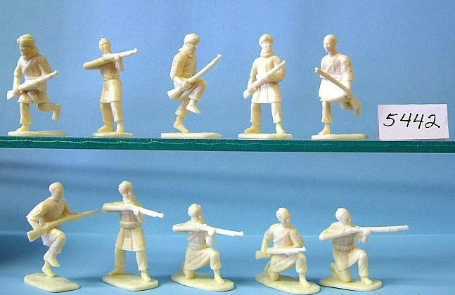 ARMIES IN PLASTIC #5442 - JIHADIYYA &  MULAZIMYYA - MAHDISTS RIFLEMEN. 1881-1898, SUDAN - 1/32 SCALE.