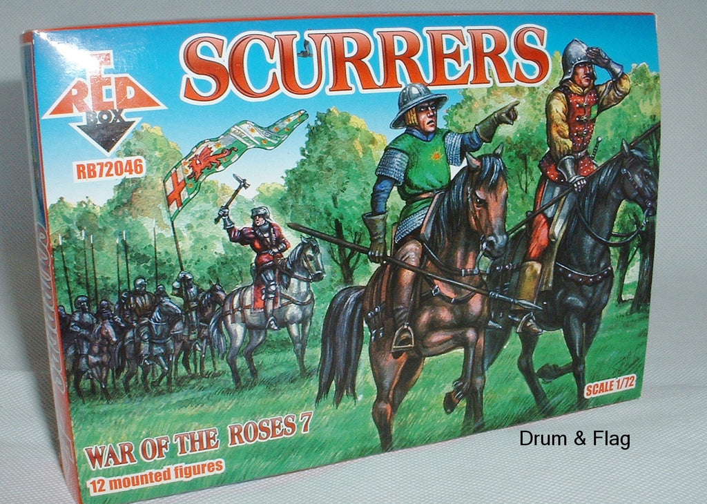 RedBox 72046 Scurrers War of the Roses 1:72 SCALE