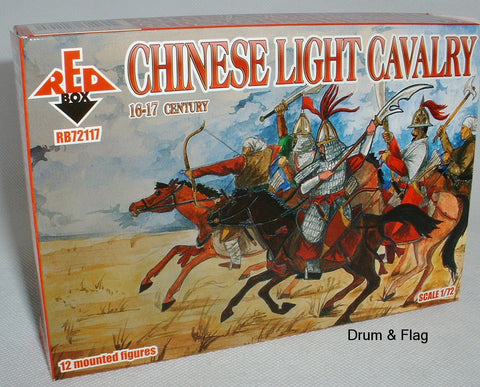 RedBox 72117 Chinese Light Cavalry 16-17th Century 1/72 scale