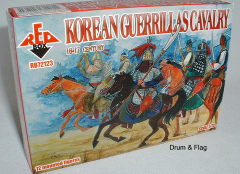 RedBox 72123 Korean Guerillas Cavalry 16-17th Century 1/72 scale